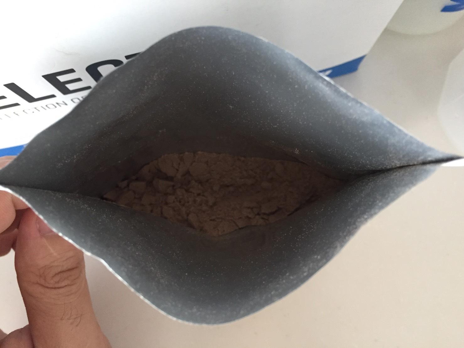【WPC】Impactホエイプロテイン「Natural Chocolate(ナチュラルチョコレート味)」を開封した様子