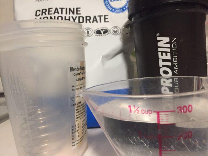 スプーン1杯を250mlの水で溶かします。
