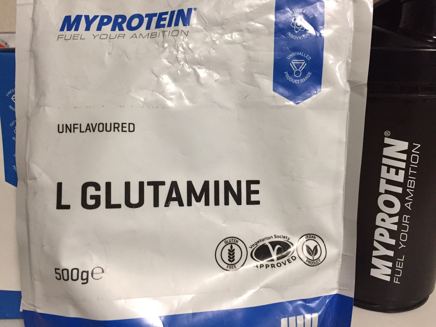 マイプロテイン「L‐ グルタミン 粉末」