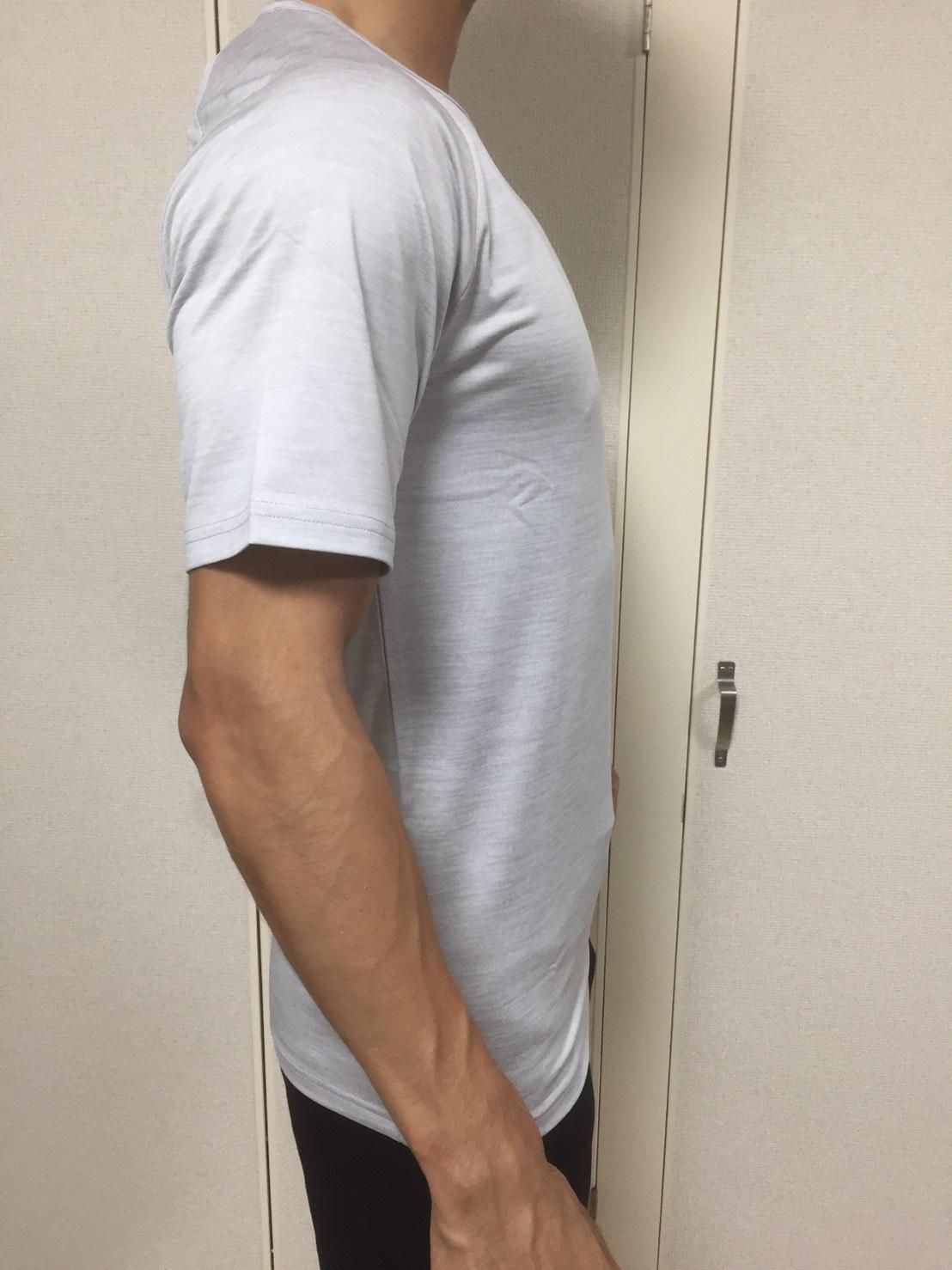 ドライテックTシャツーシルバー