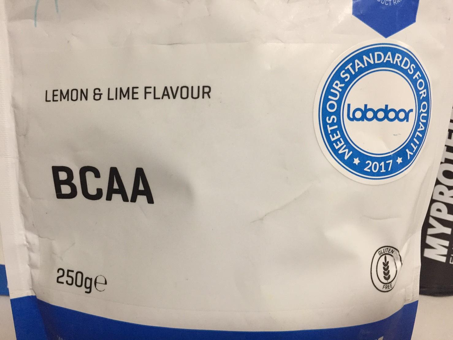レモン&ライム味(LEMON&LIME FLAVOUR)のパッケージ