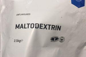 マイプロテインのマルトデキストリン