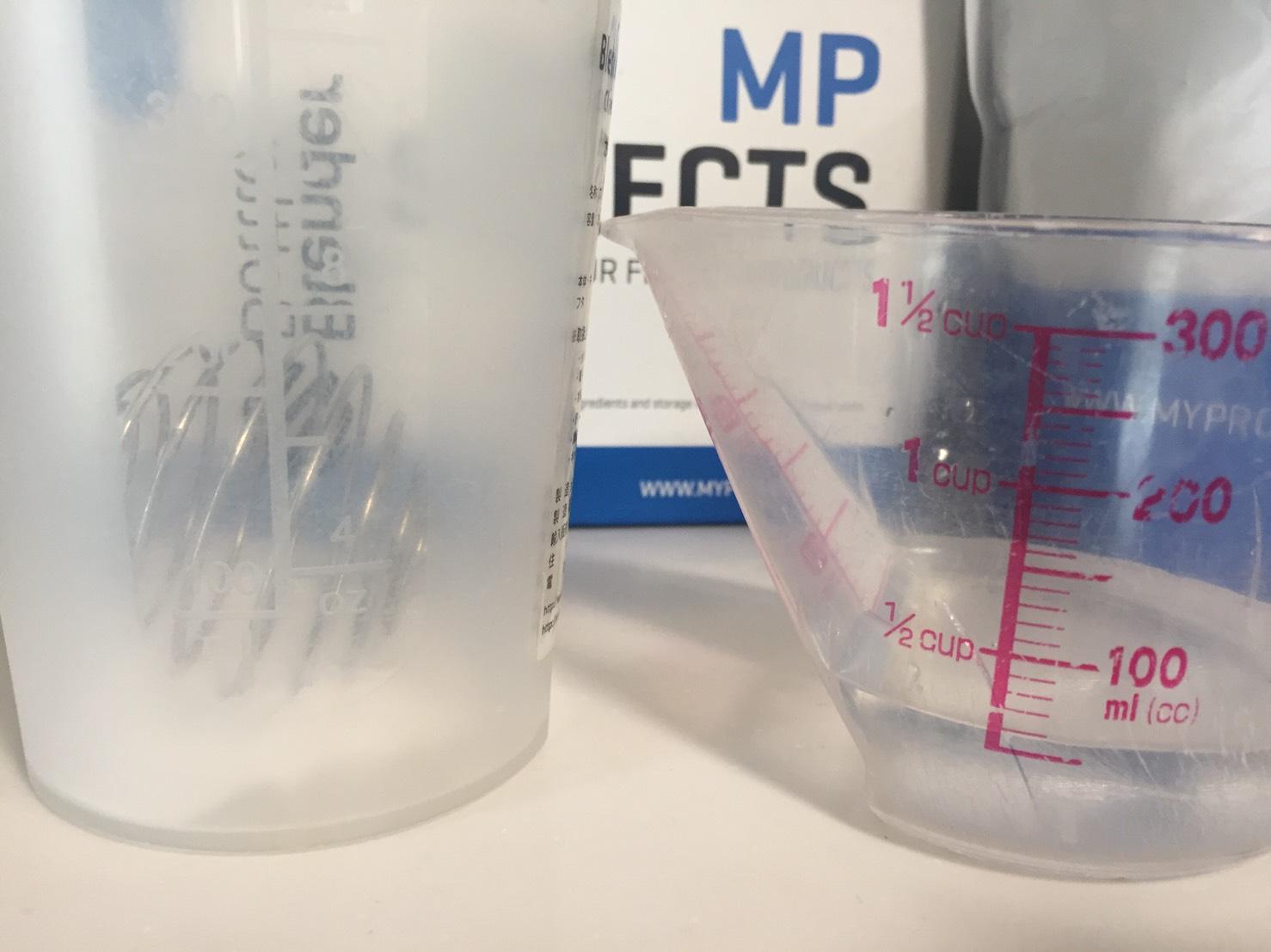 マルトデキストリン5gを50mlの水に溶かしてレビュー