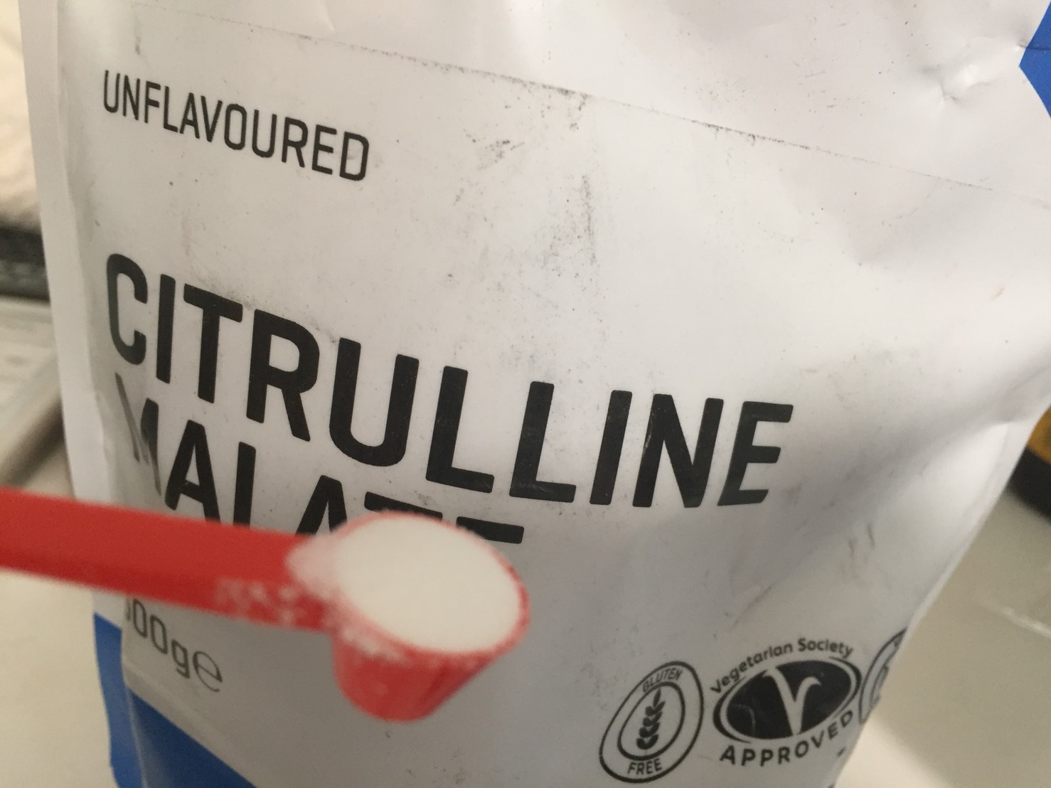 マイプロテインのシトルリンマレート(リンゴ酸)