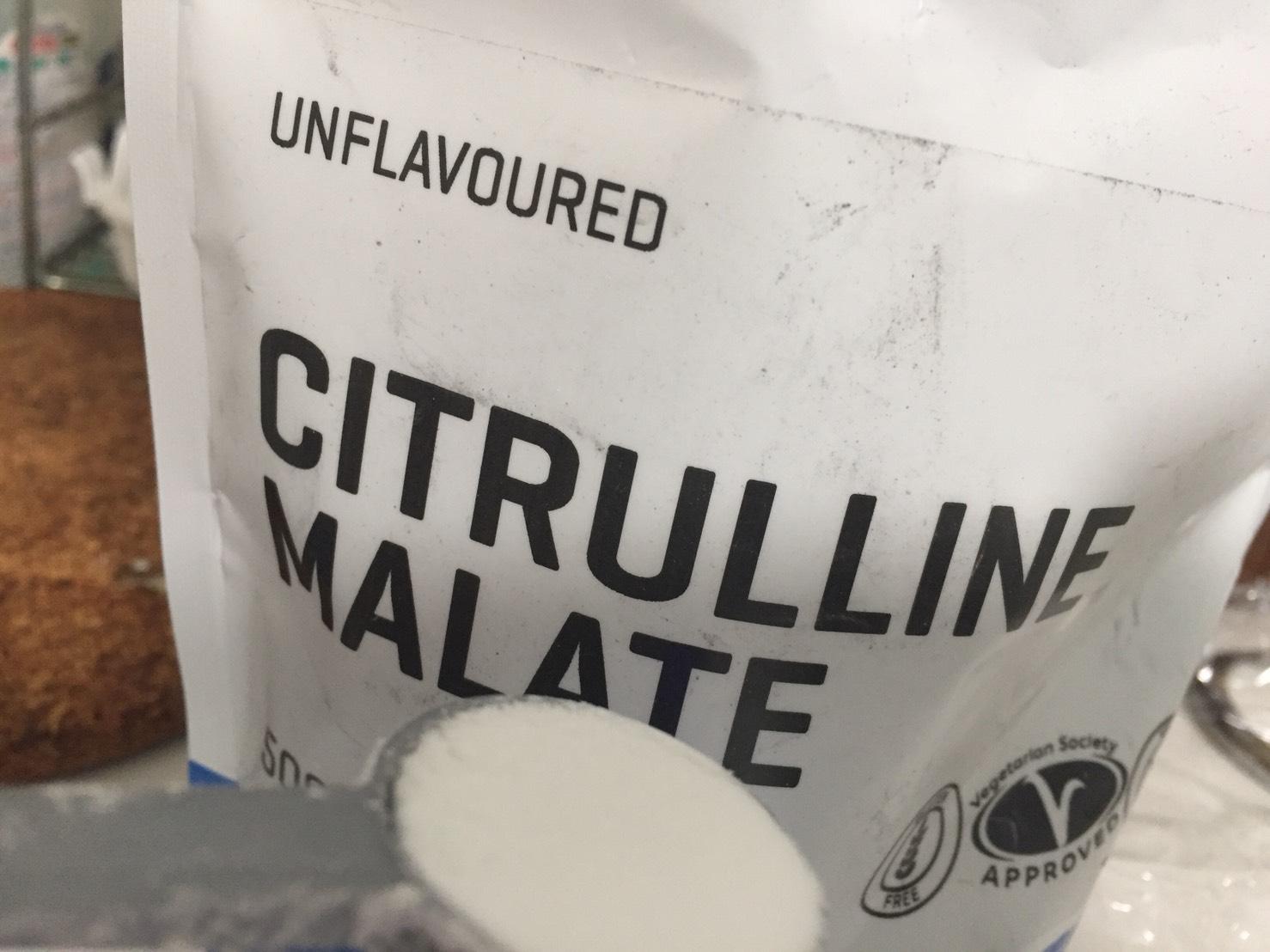 シトルリンマレートのスプーン一杯の様子