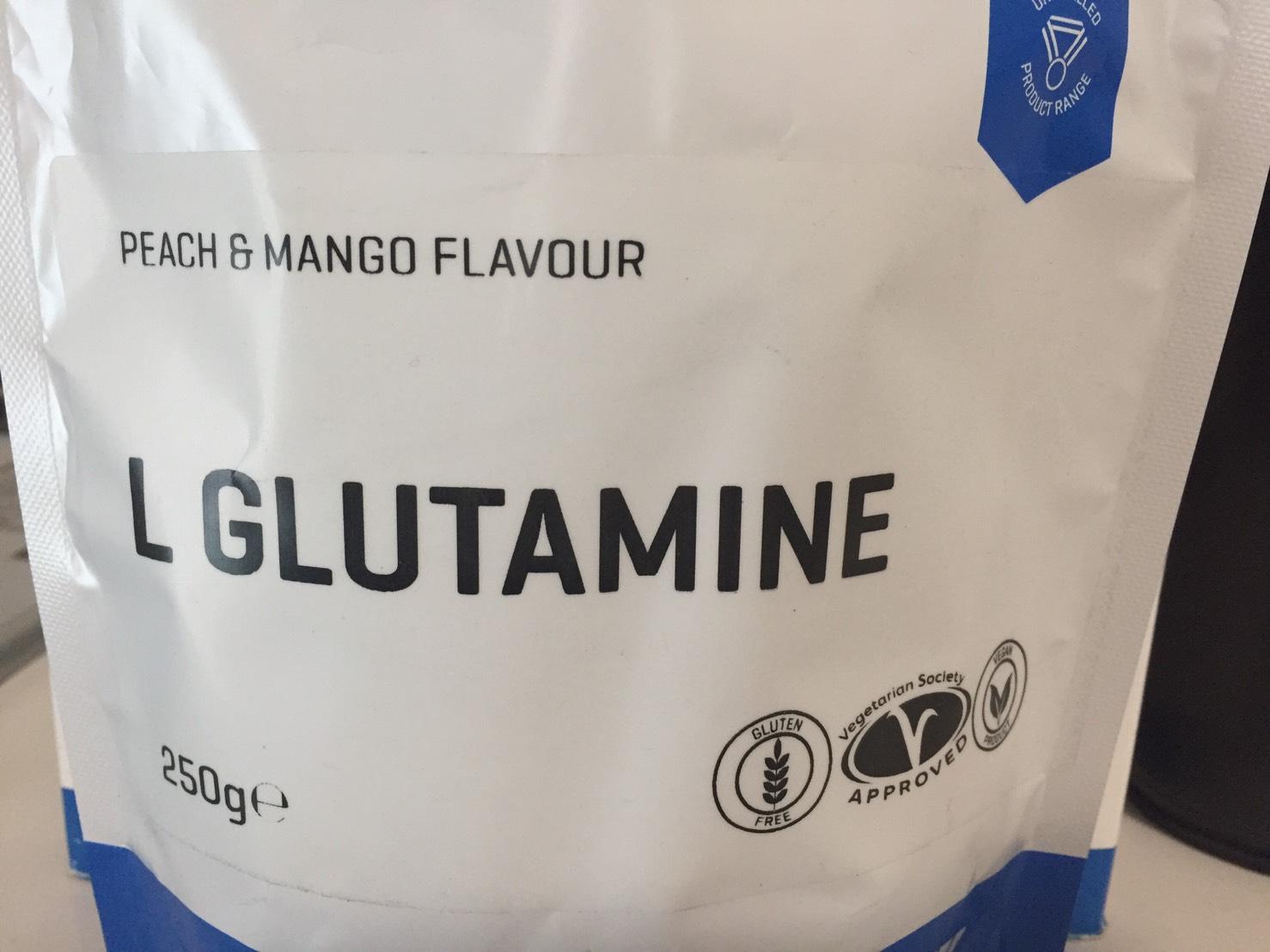 グルタミンPEACH&MANGO FLAVOUR(ピーチ&マンゴー味)