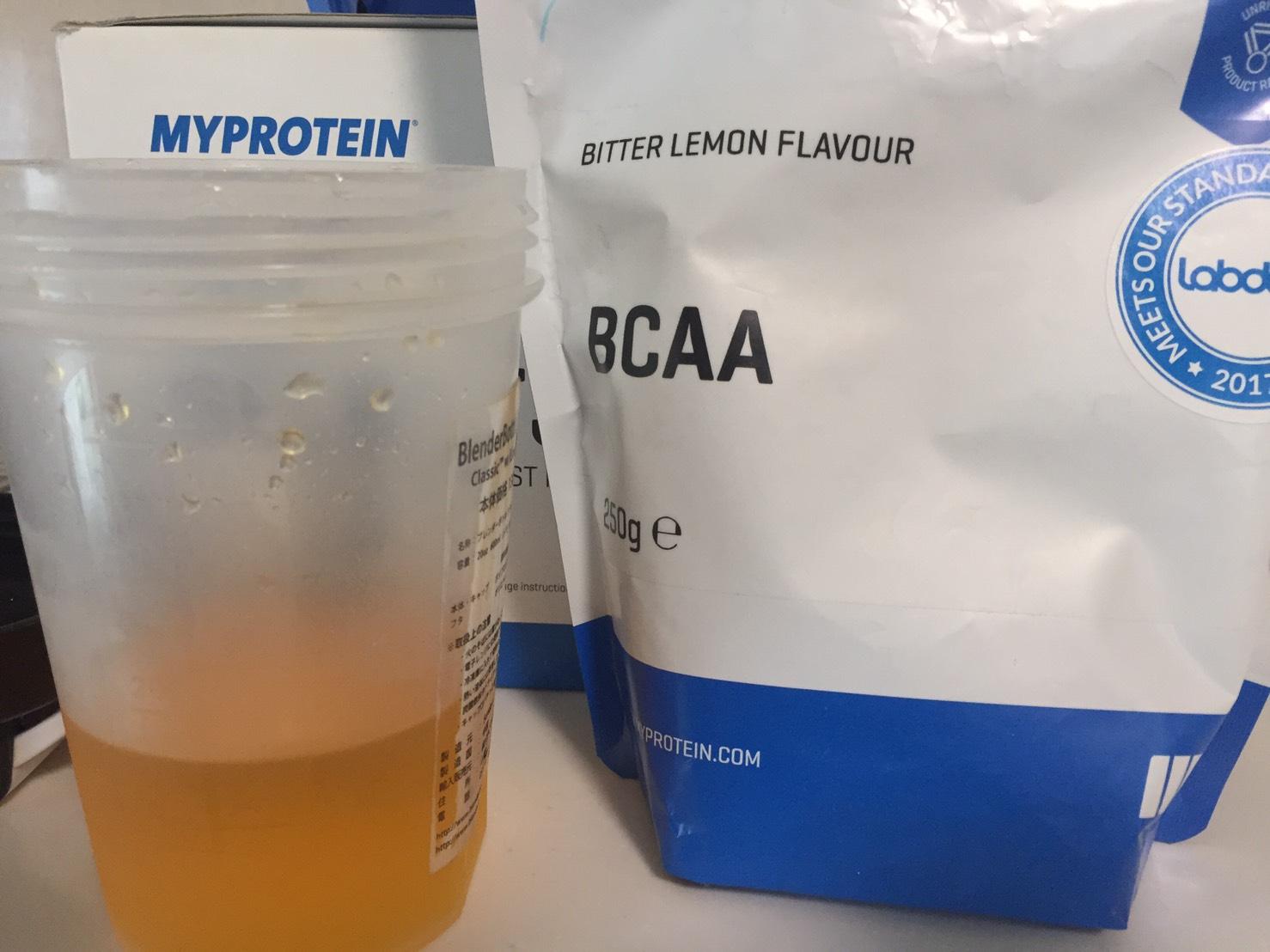 L-グルタミン「PEACH&MANGO FLAVOUR(ピーチ&マンゴー味)」にBCAA「ビターレモン味」を追加
