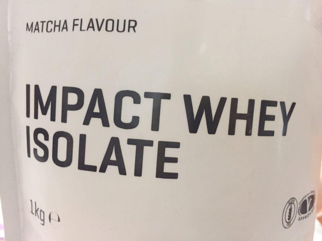 【WPI】IMPACT 分離ホエイプロテイン (アイソレート)「MATCHA FLAVOUR(抹茶味)」