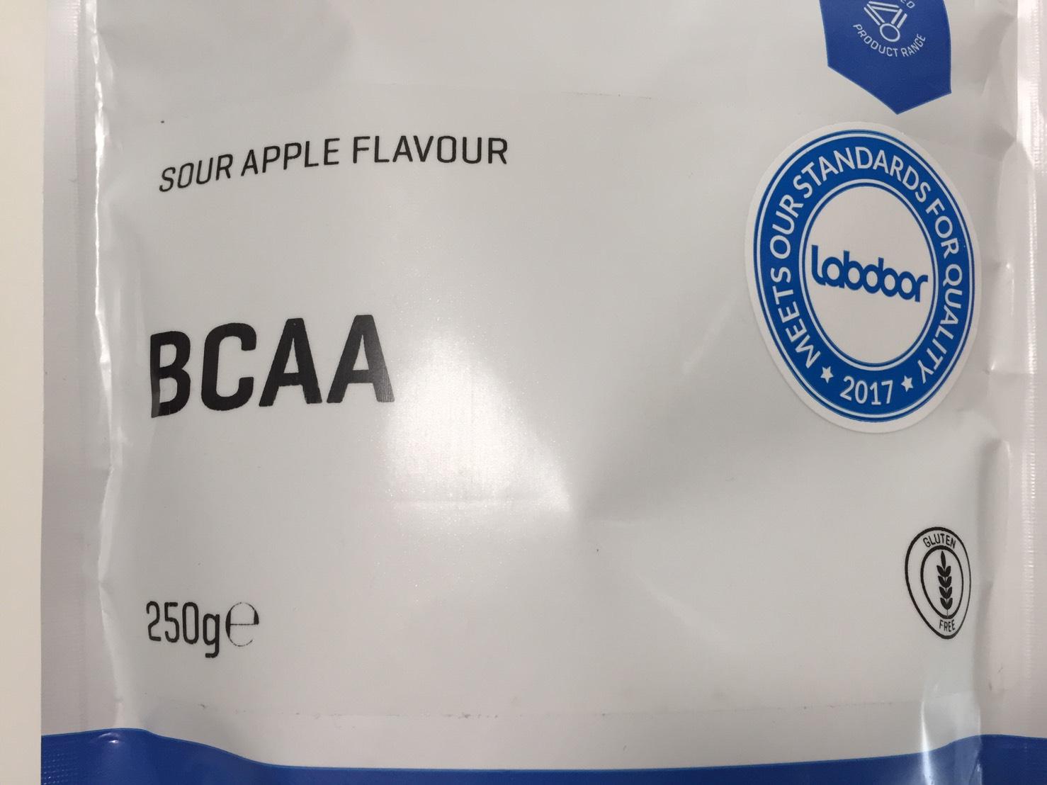 BCAA「サワーアップル味(SOUR APPLE FLAVOUR)」