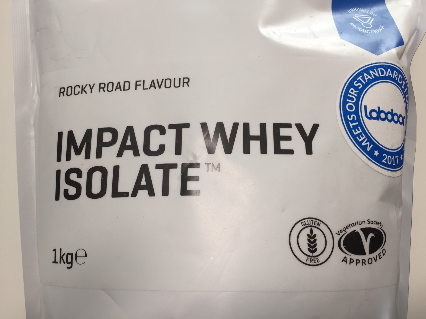 【WPI】IMPACT 分離ホエイプロテイン (アイソレート)「ROCKY ROAD FLAVOUR(ロッキーロード味)」