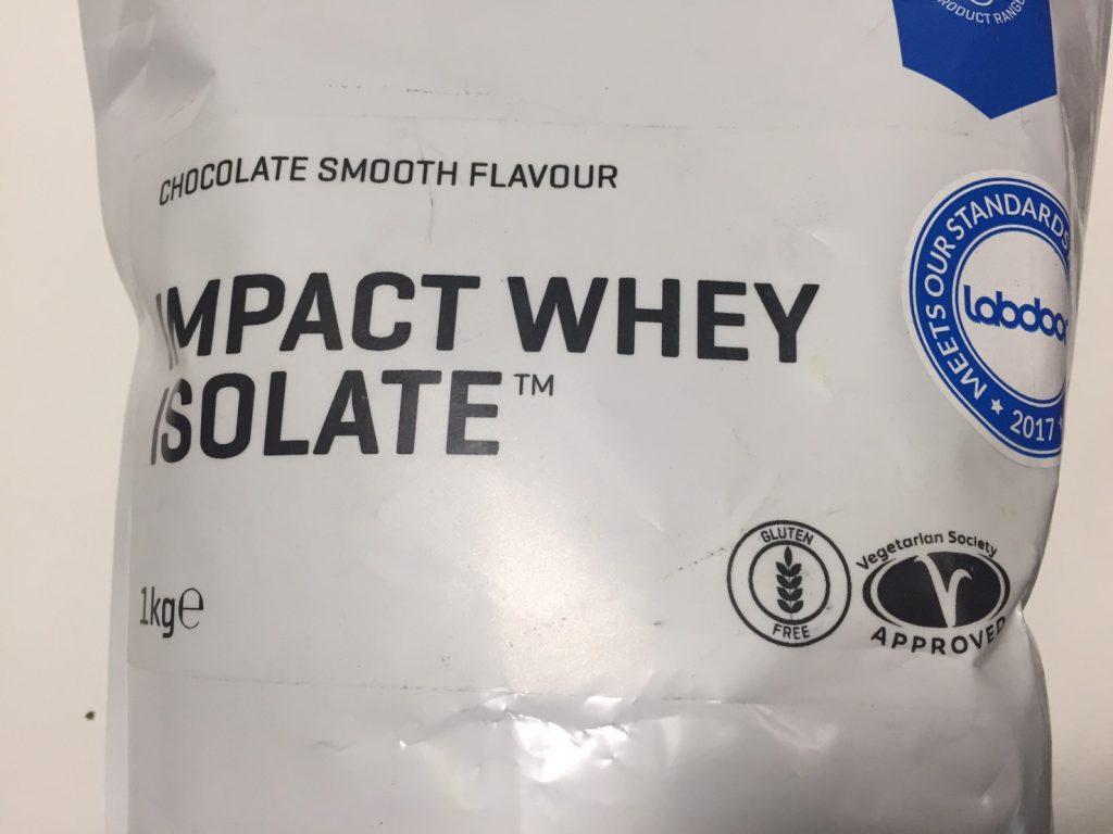 【WPI】IMPACT 分離ホエイプロテイン (アイソレート)「CHOCOLATE SMOOTH FLAVOUR(チョコレートスムーズ味)」