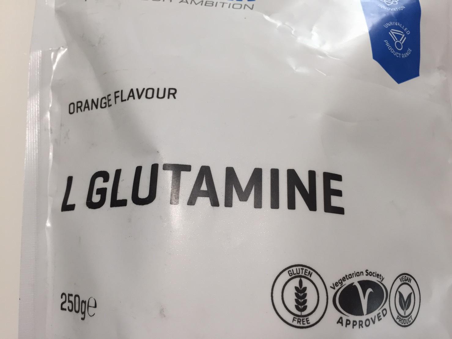 L-グルタミン「ORANGE FLAVOUR(オレンジ味)」