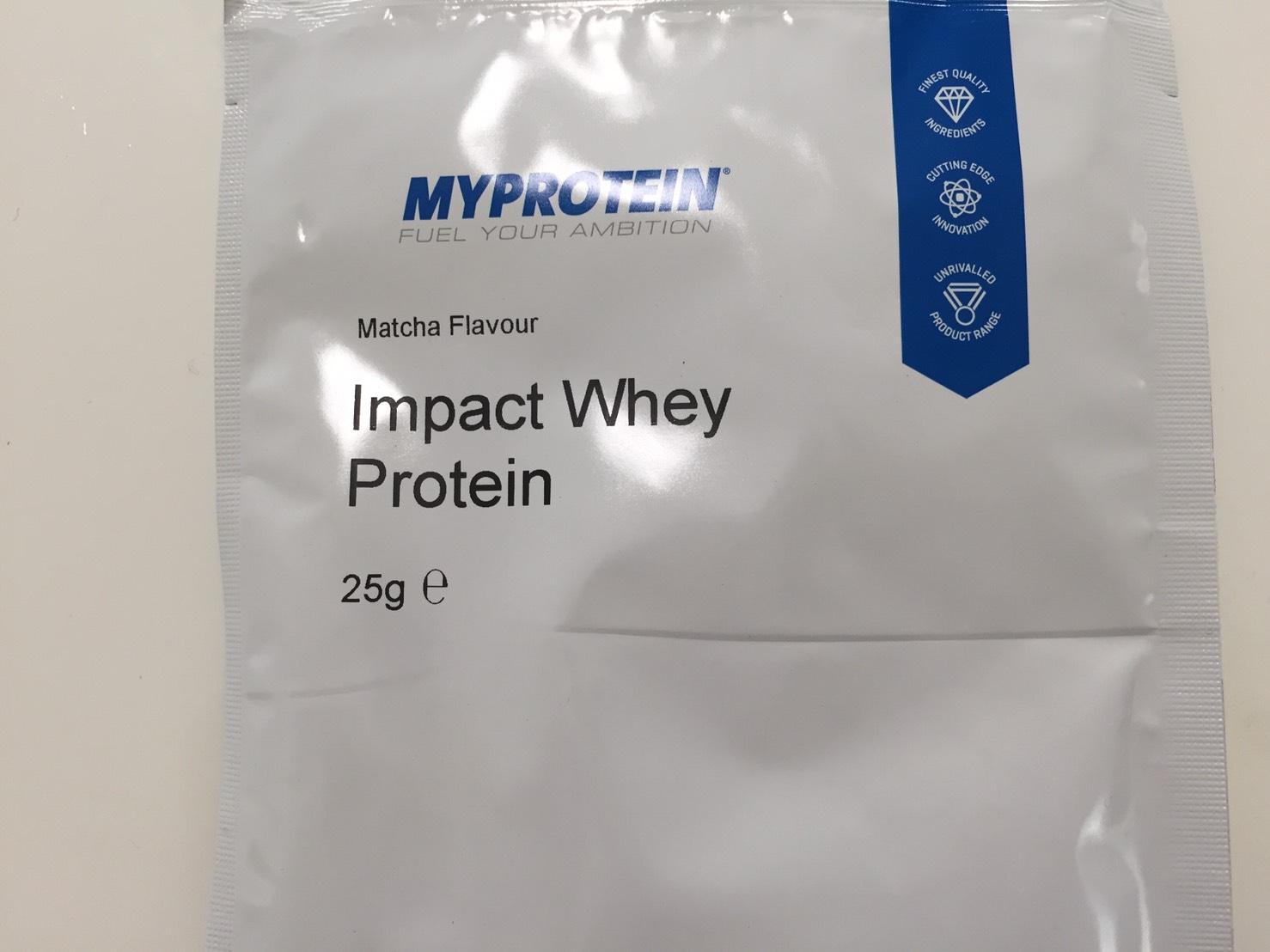 【WPC】Impactホエイプロテイン「Matcha Flavour(抹茶味)」