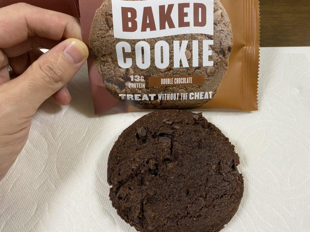 ベイクドプロテインクッキー:チョコレート味