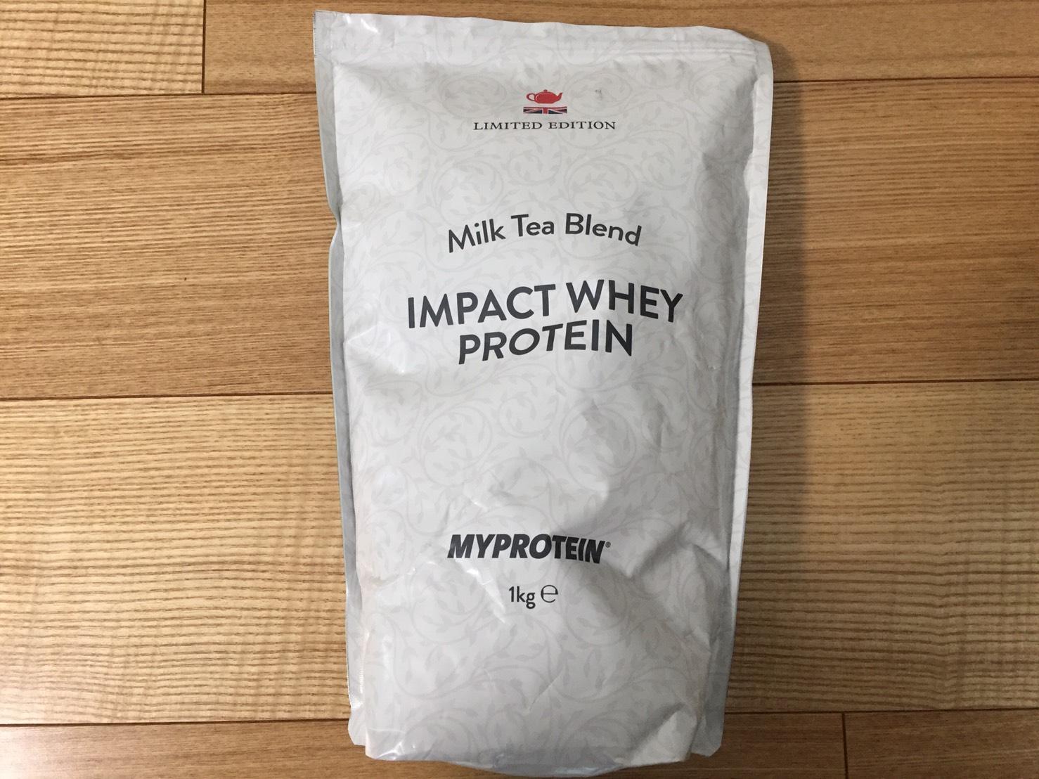 【WPC】Impactホエイプロテイン「Milk Tea Blend(ミルクティー味)」