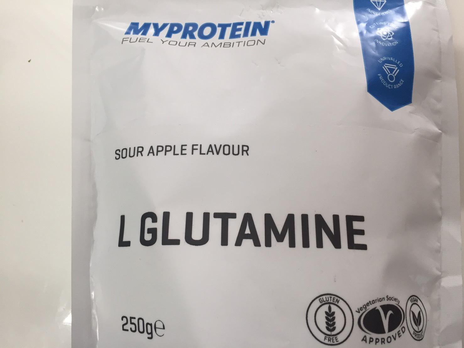 L-グルタミン「SOUR APPLE FLAVOUR(サワーアップル味)」