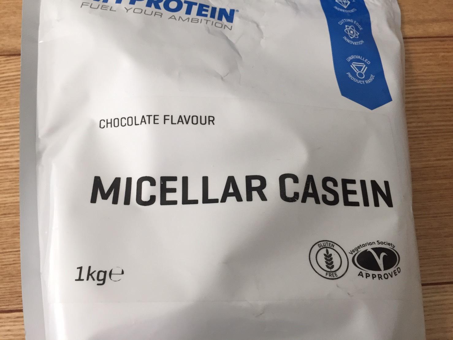 カゼインミセル「CHOCOLATE FALVOUR(チョコレート味)」