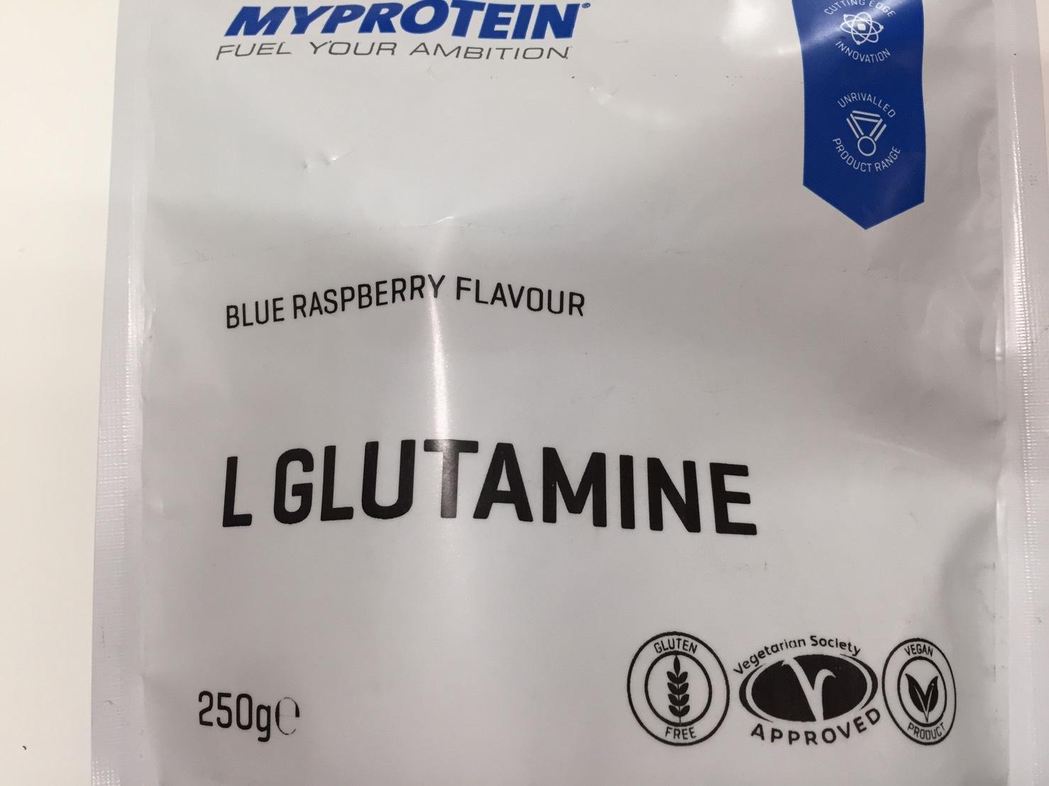 L-グルタミン「BLUE RASPBERRY FLAVOUR(ブルーラズベリー味)」