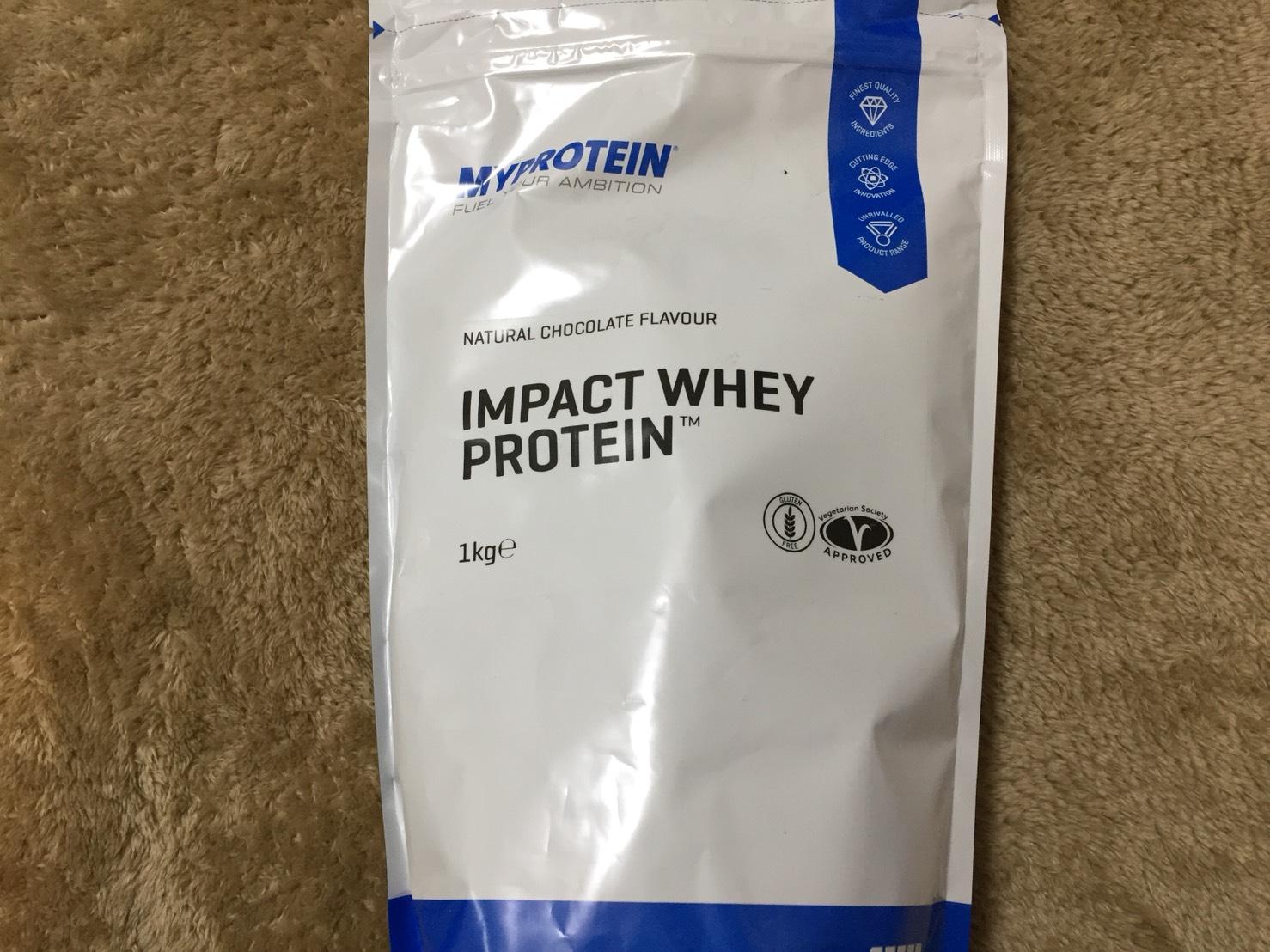 IMPACTホエイプロテイン1kg (ナチュラルチョコレート味)