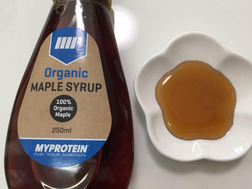 マイプロテイン「オーガニックメープルシロップ」の味