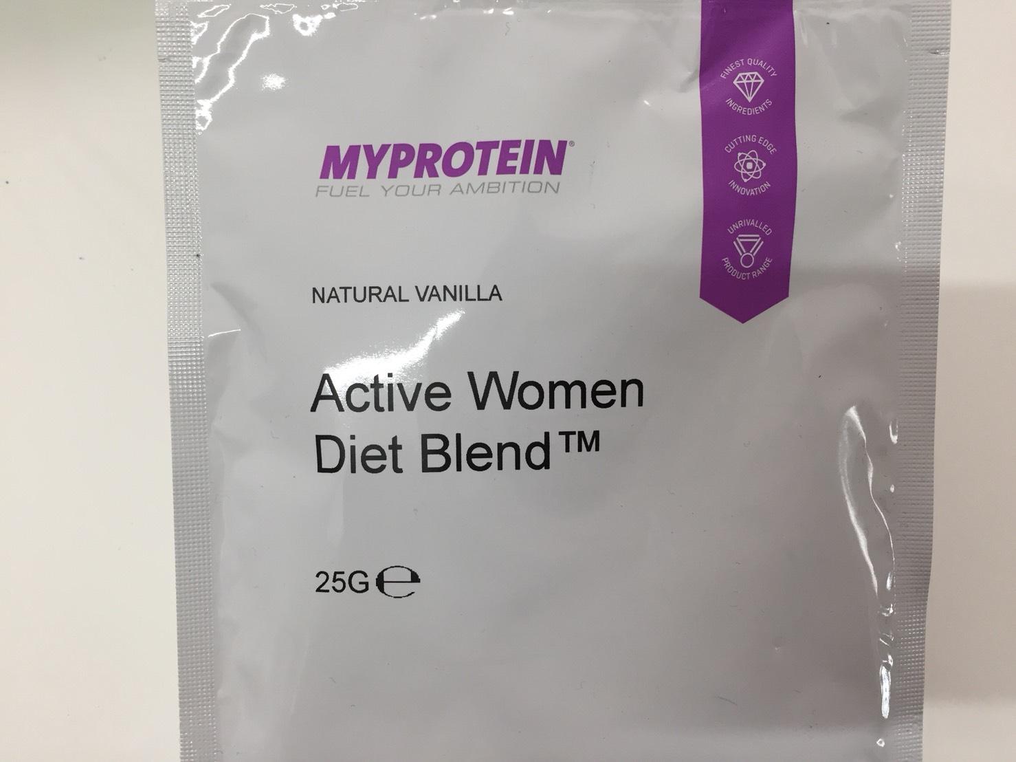 Active Women Diet Blend(アクティブウーマンダイエットブレンド)「NATURAL VANILLA(ナチュラルバニラ味)」