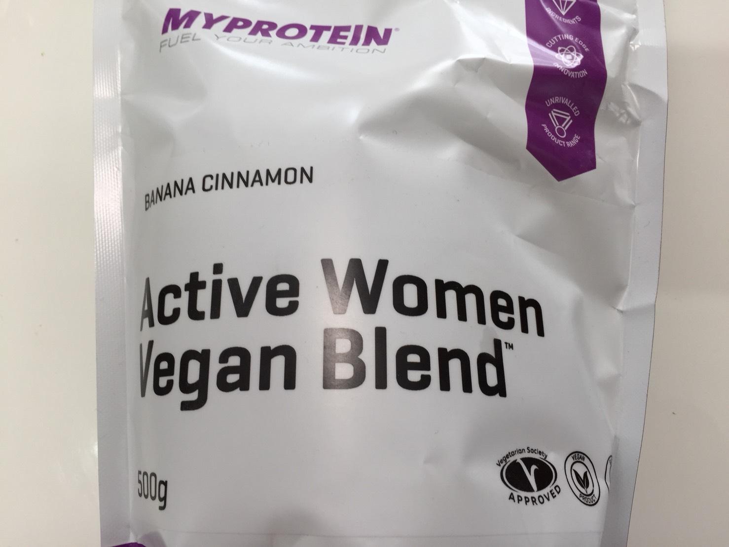 Active Women Vegan Blend(アクティブウーマンビーガンブレンド)「BANANA CINNAMON(バナナシナモン味)」