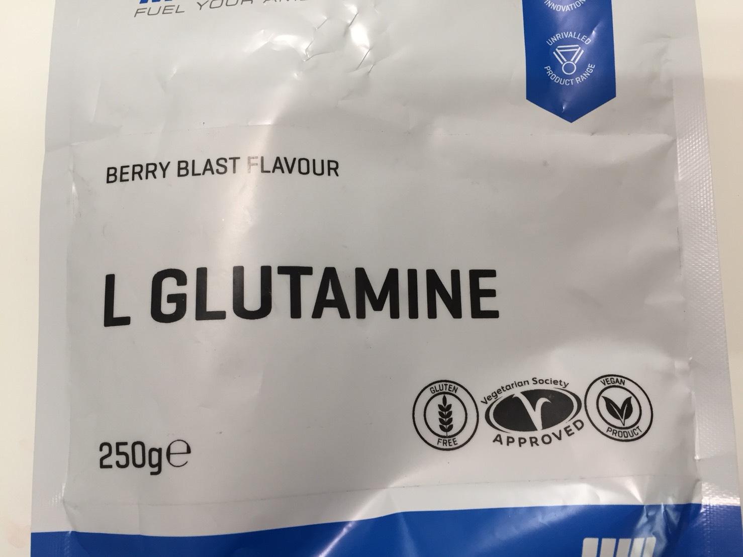 L-グルタミン「BERRY BLAST FLAVOUR(ベリーブラスト味)」