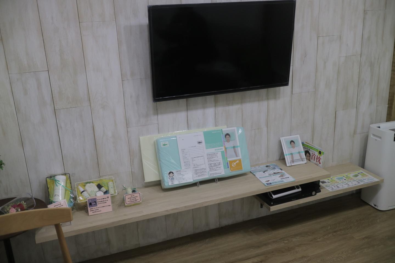 山田朱織枕研究所の東京渋谷支店の様子