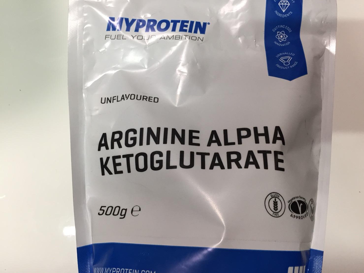 マイプロテインの「アルギニン アルファ ケトグルタル酸(AAKG)」