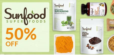 Sunfood50%オフ