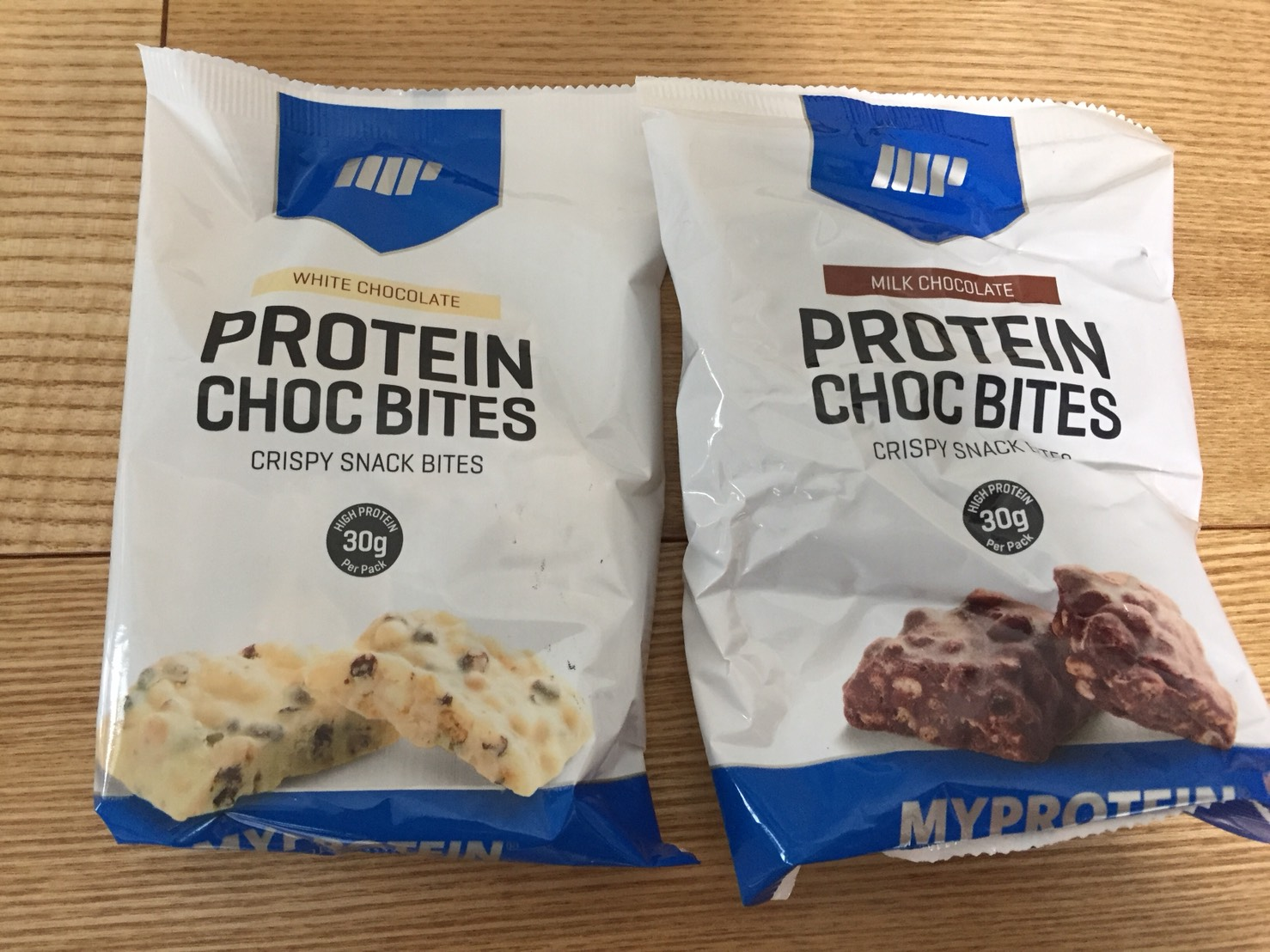 プロテインチョコバイト(PROTEIN CHOC BITES)の栄養素の確認