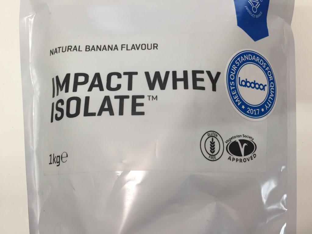 【WPI】Impactホエイアイソレート「NATURAL BANANA FLAVOUR(ナチュラルバナナ味)」
