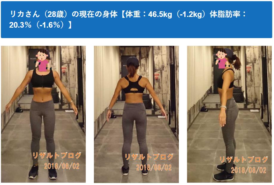 【リカさんダイエット企画最終回】4カ月で体重-5.9kg、体脂肪率-8.5%を達成した方法を全て公開します!健康的な減量の仕方です。是非マネしてください。