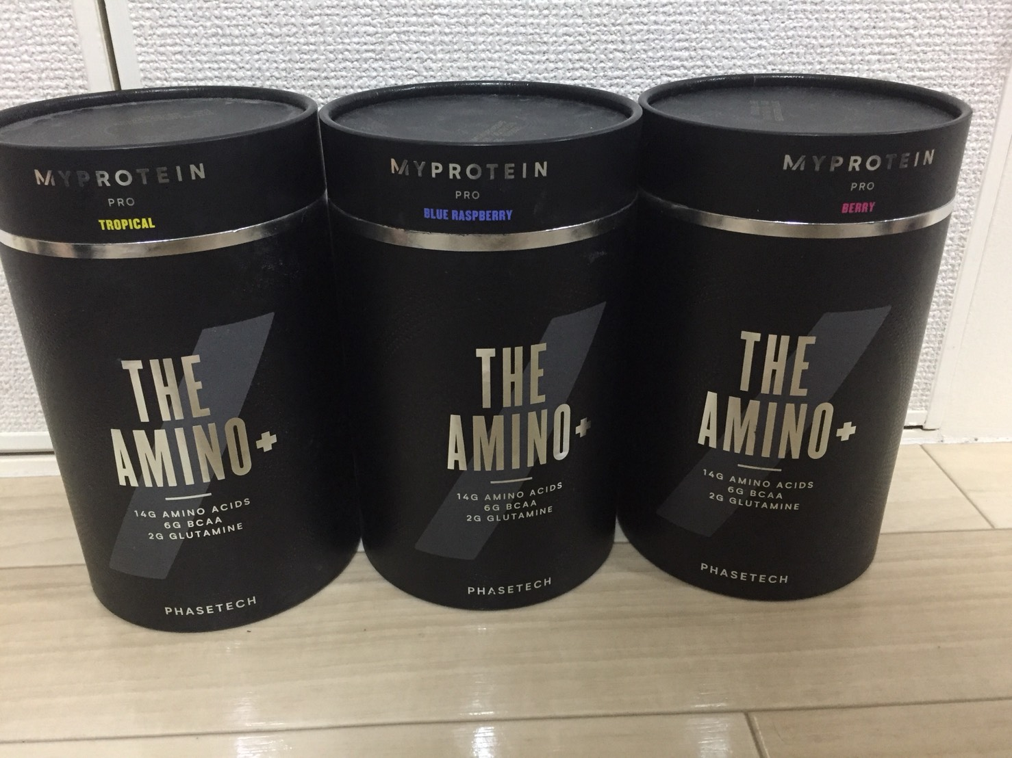 THE アミノ+の成分表