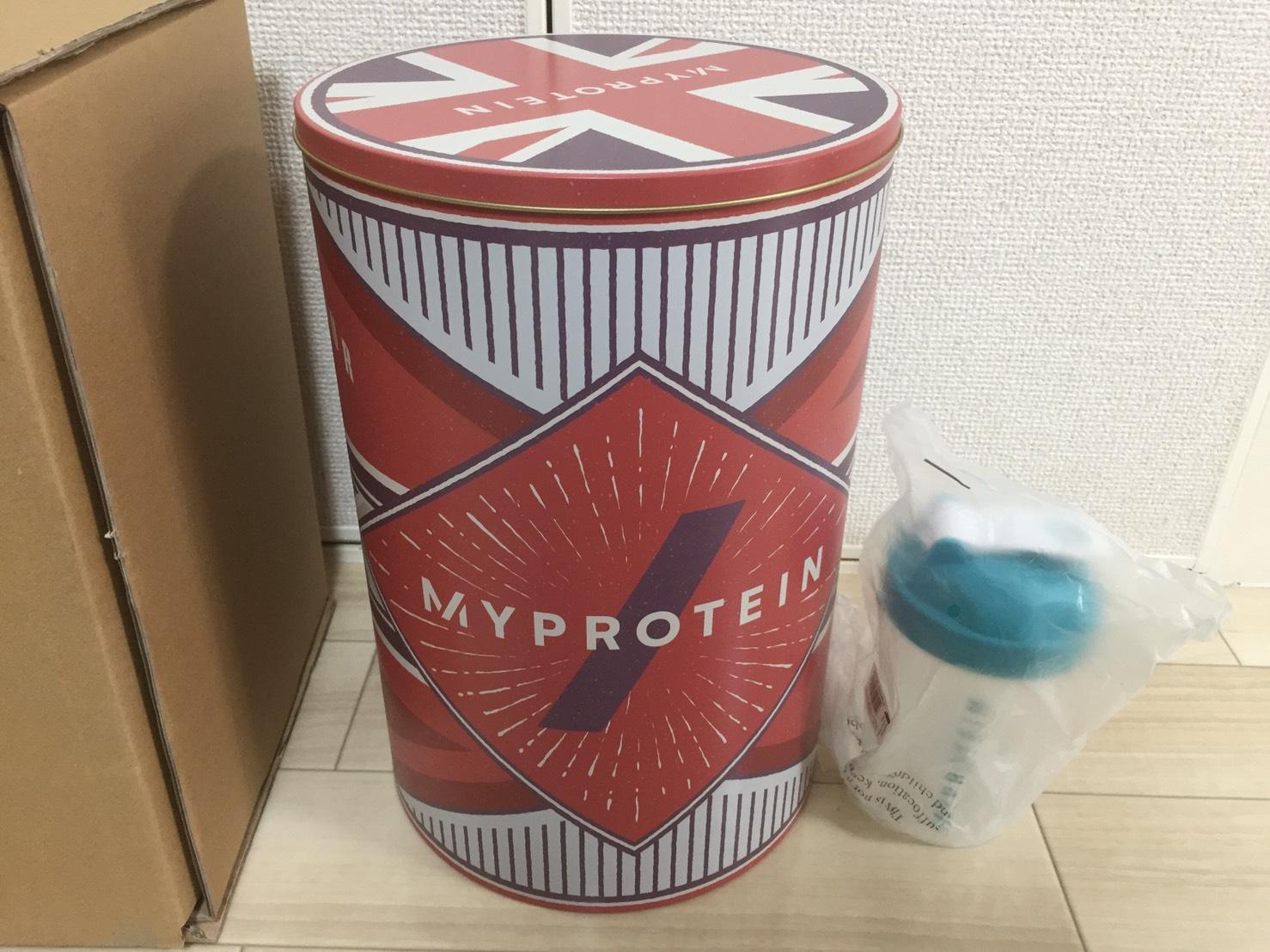 マイプロのギフト缶のサイズ