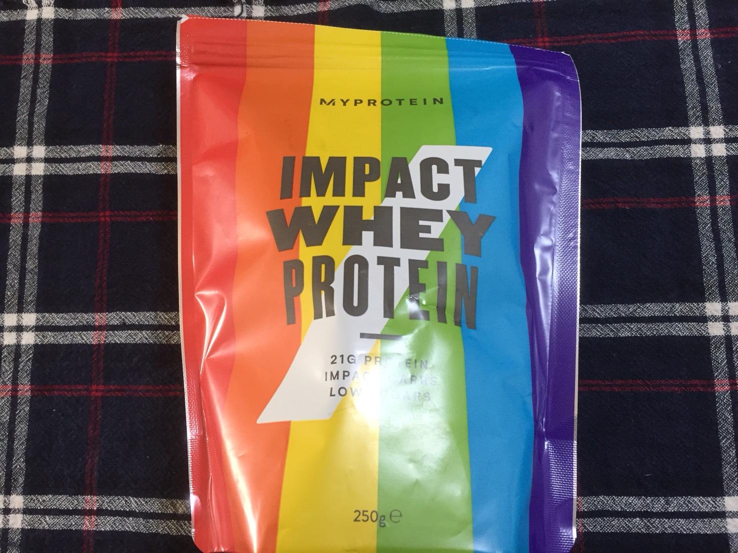 【WPC】Impactホエイプロテイン「レインボー味」