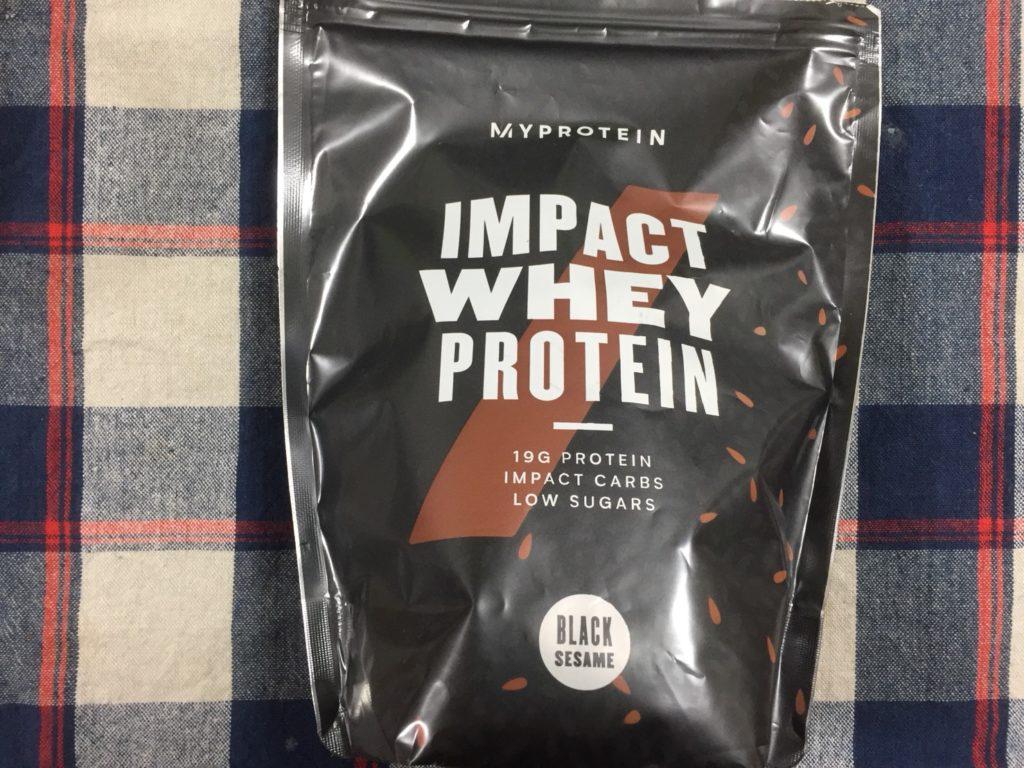 【WPC】Impactホエイプロテイン「黒ゴマ味」