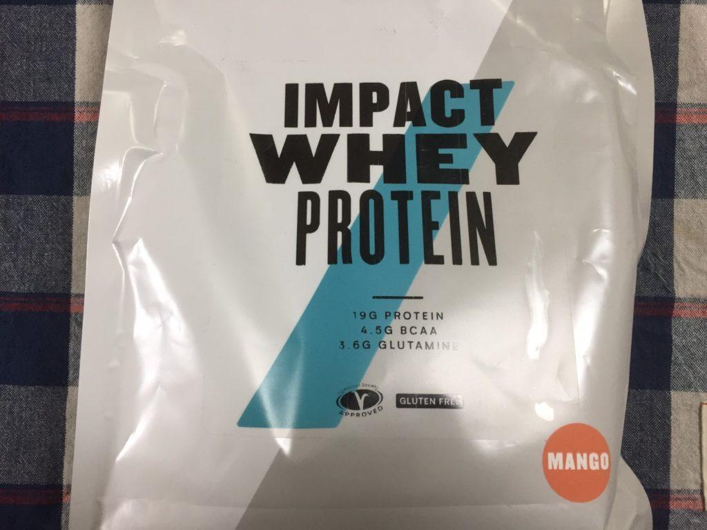 【WPC】Impactホエイプロテイン「マンゴー味」