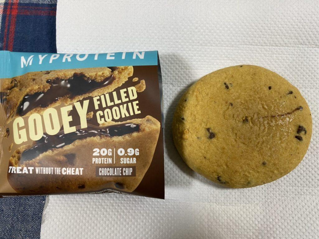 フィルドプロテインクッキー:チョコチップ味