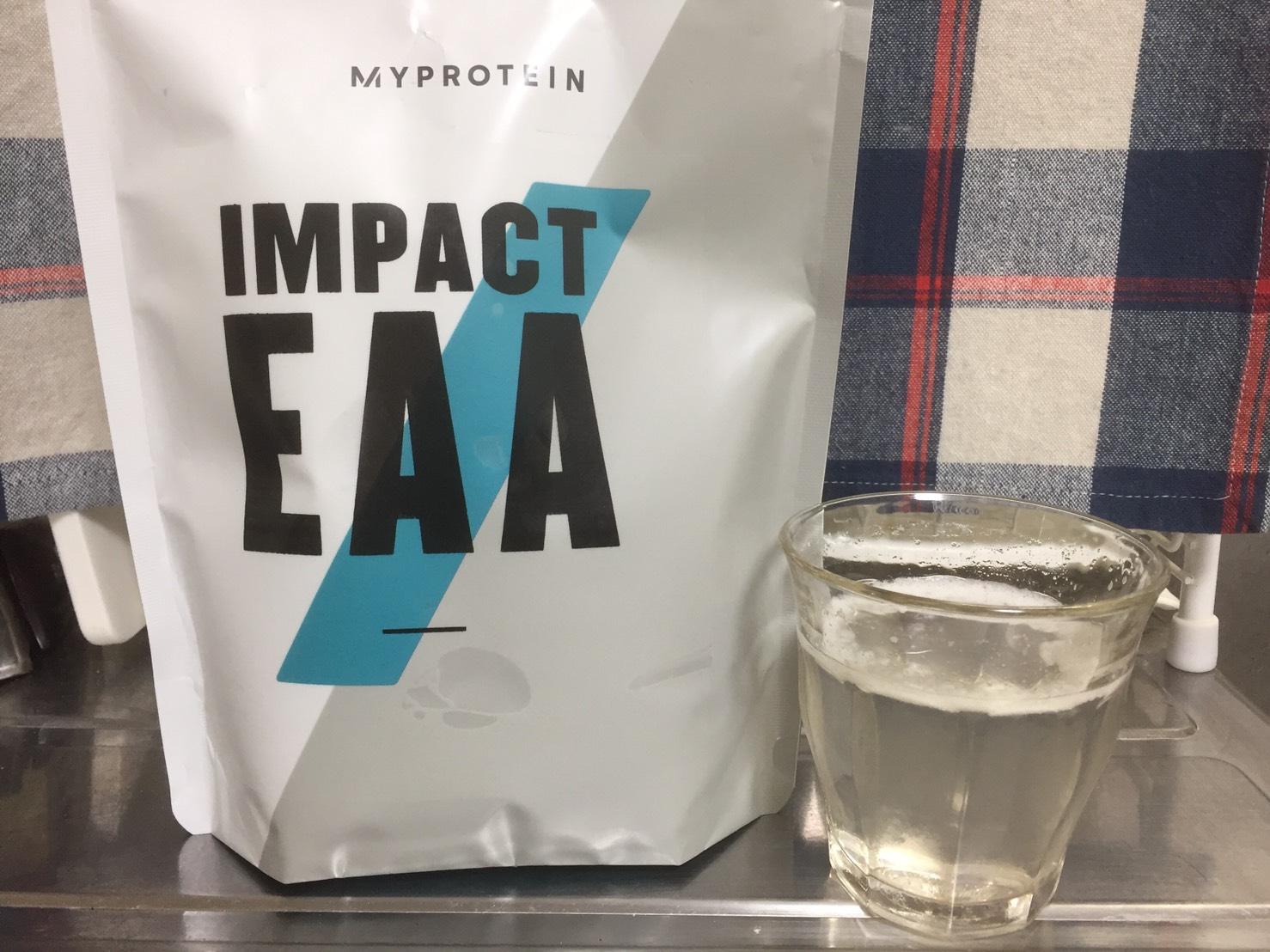 Impact EAAノンフレーバーの評価