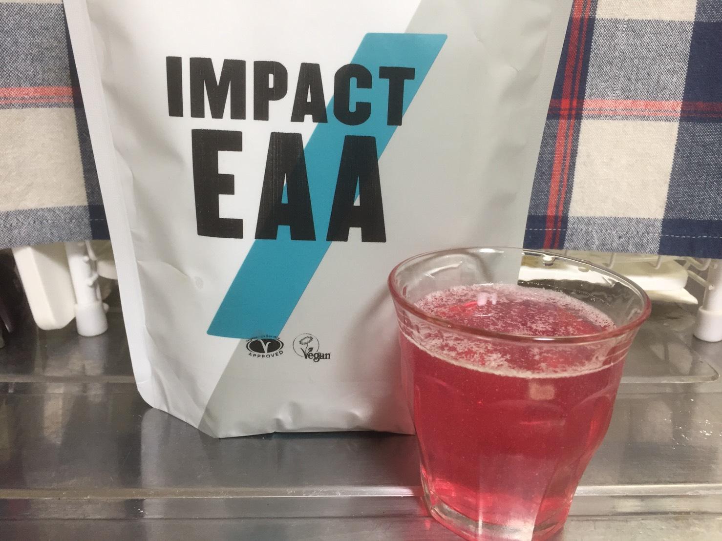 Impact EAAプラム味の評価