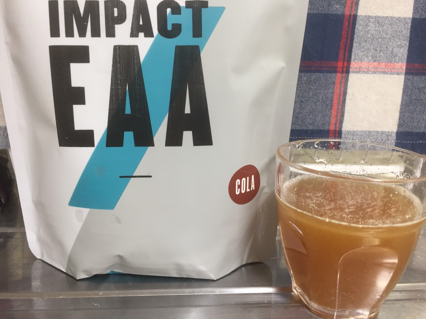 Impact EAAコーラ味のレビュー