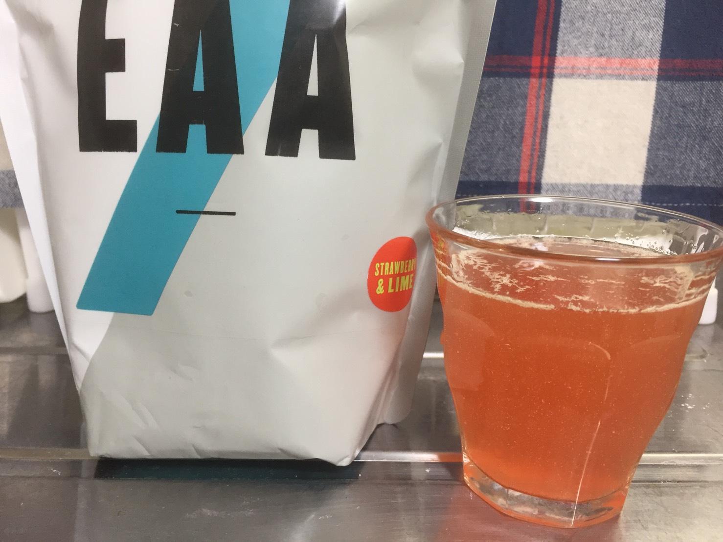 Impact EAAストロベリー&ライム味のレビュー