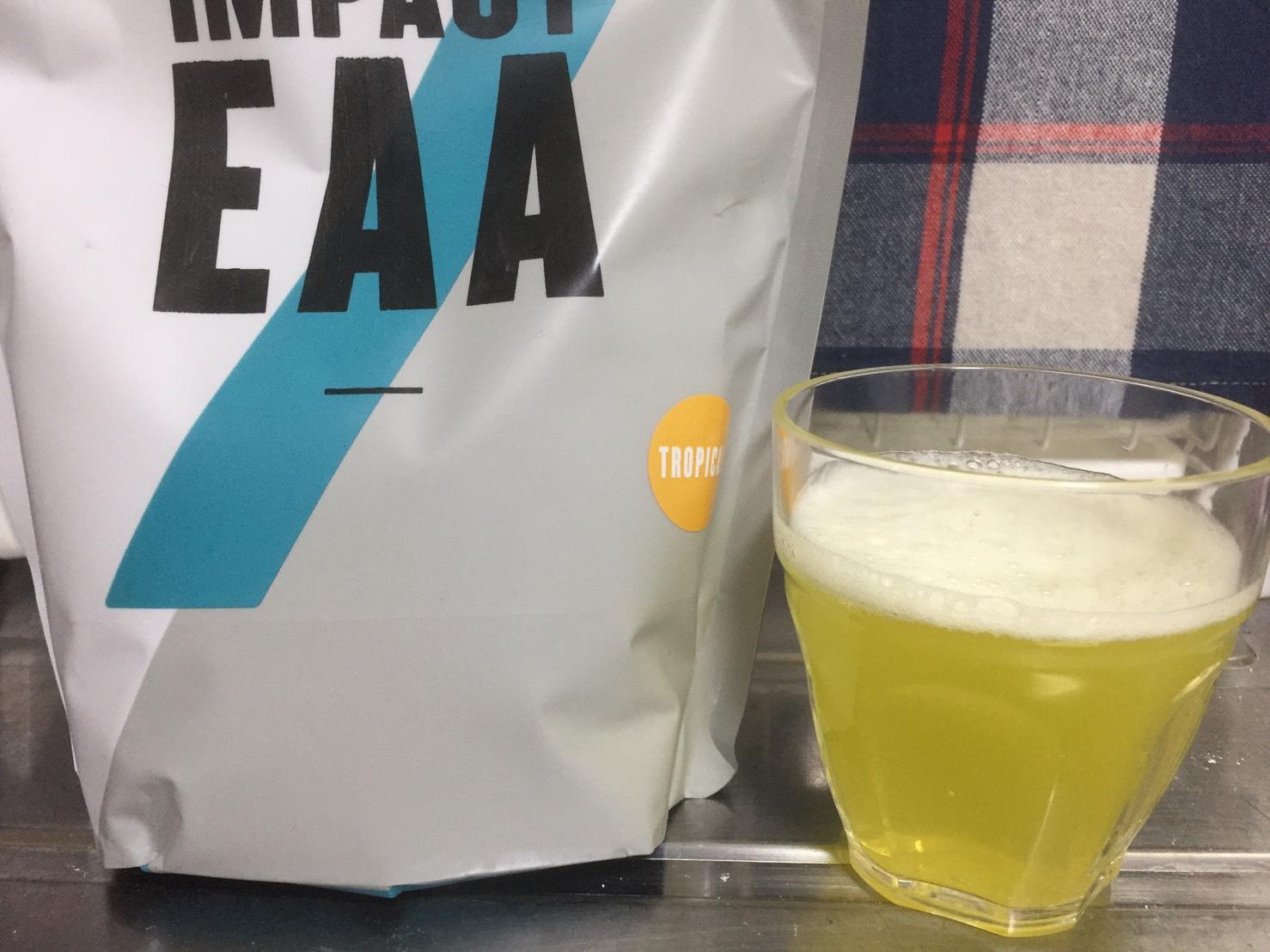 Impact EAAトロピカル味のレビュー