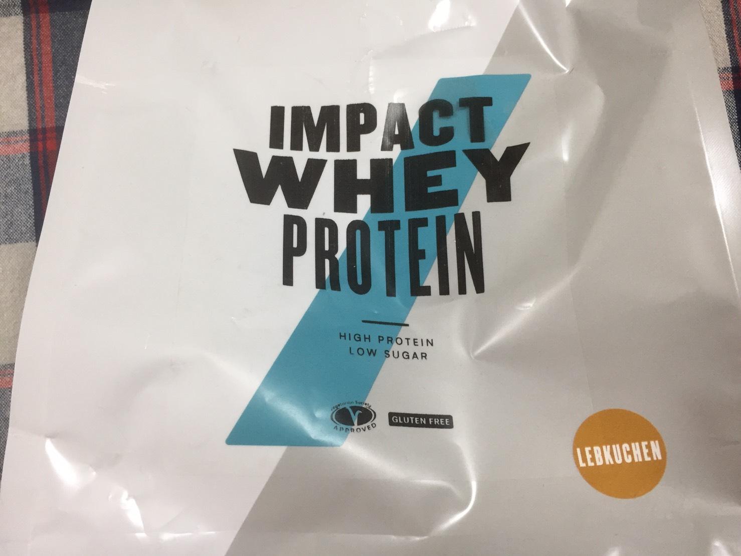 【WPC】Impactホエイプロテイン「レープクーヘン味」・「ジンジャーブレッド味」