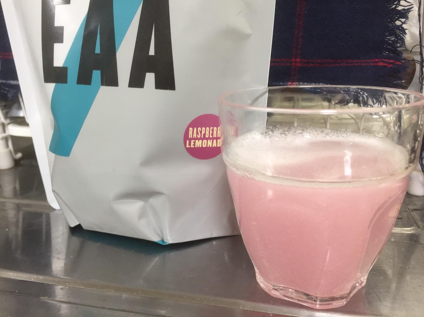 ImpactEAAラズベリーレモネード味
