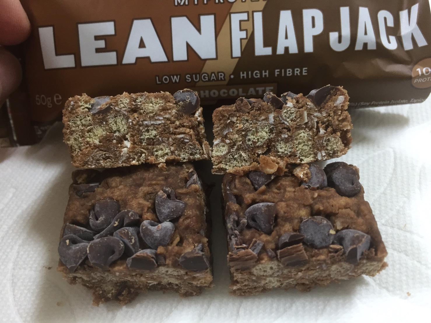 リーンフラップジャック「チョコレート味」のレビュー