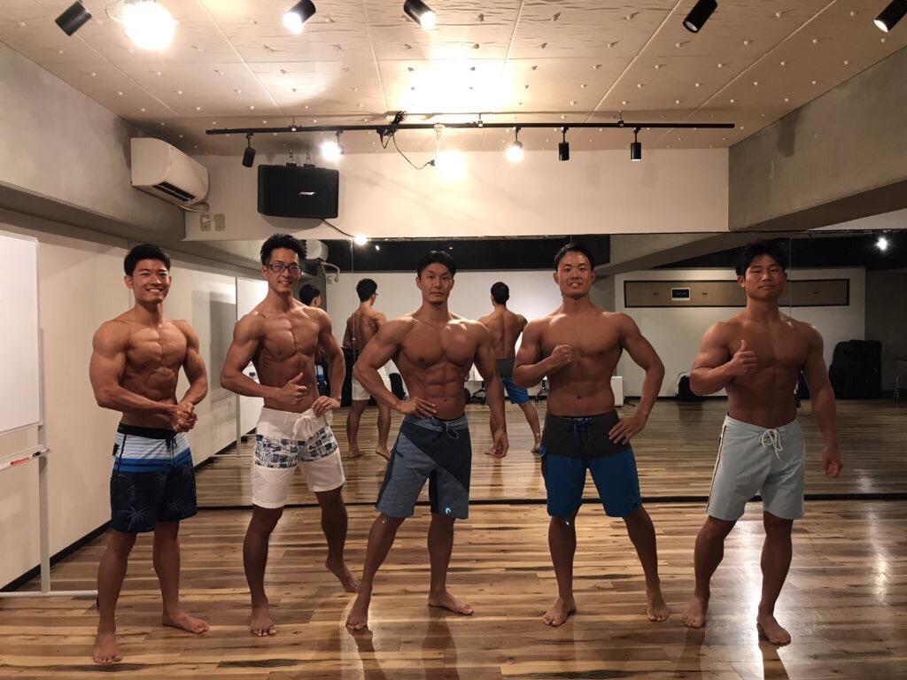 久野さんのポージング講習会