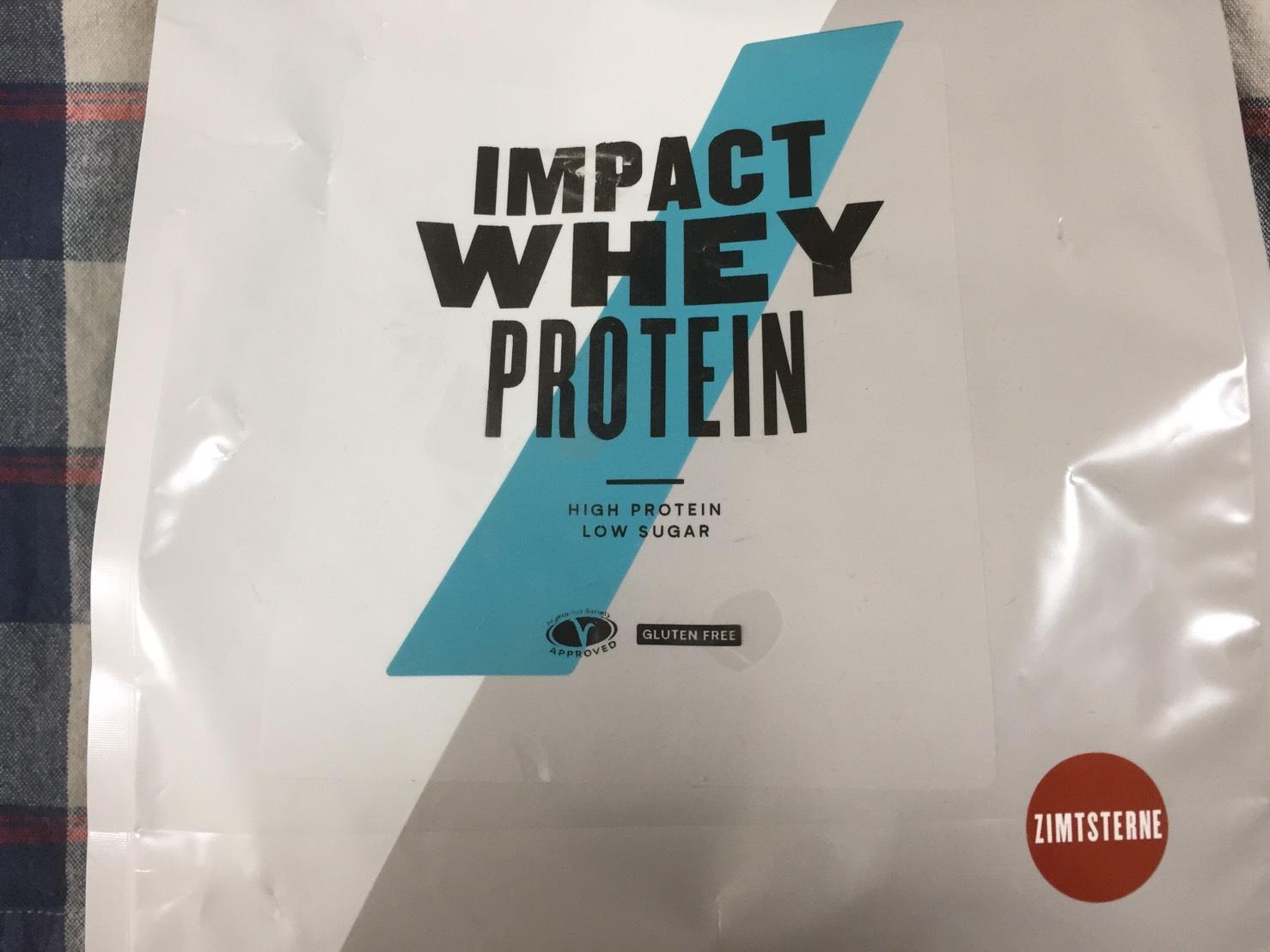 【WPC】Impactホエイプロテイン「シナモンスタークッキー味」の総合評価