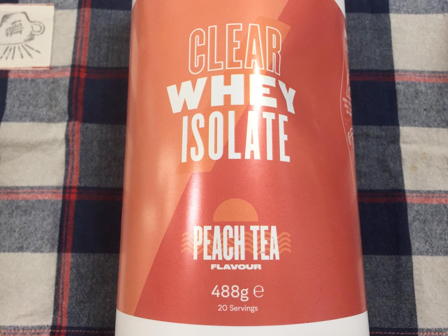 ピーチティー味(PEACH TEA)の成分表